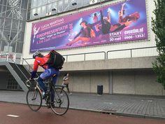 Voor Lucia Marthas hebben wij deze Banner van 17x5 meter ontworpen. Studenten Eindpresentatie  1,2 en 3 juli in de RAI te Amsterdam. Kaarten zijn nog te koop via www.eventim.nl