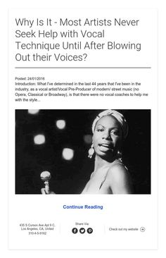 Why Artists BlowOut Voices?