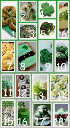 St. Patty's Day ~ Kids Edible Crafts