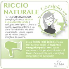 #capelli ricci senza bigodini? Con una spazzola tonda e il #phon ECO 2000 by #GamaProfessional, per un risparmio energetico del 40%! /// #curly #hair without hair rollers? Follow Gama's #tips with a round brush, an #hairdryer and hair clips! Try ECO 2000 #hairdryers, to have 40% energy saving! www.gamaprofessional.it/Asciugacapelli/ECO_2000 #gamaconsiglia #gama #gamaitalia #asciugacapelli #dryer #dryers #blowdry #beautytechnology #hairtips #howto #tutorial #capelliricci #curlyhair #blowdryer