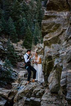 Colorado Mountain Adventure Elopement & Intimate Wedding | Paige & Chad {Telluride, Colorado Mountain Adventure Winter Elopement) Elopement Inspiration, Rock Climbing, Rocky Mountains, Colorado, Aspen Colorado, Climbing, Colorado Hiking, Mountaineering