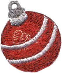 Christmas Ornament 2 - machine embroidery design