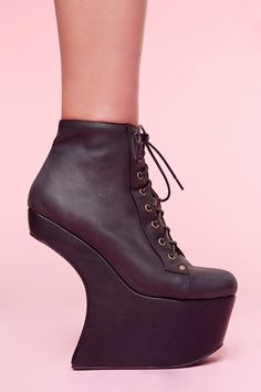jeffrey campbell - I'll be honest and say that I'd probably pretty much never wear these. But I want them anyway!