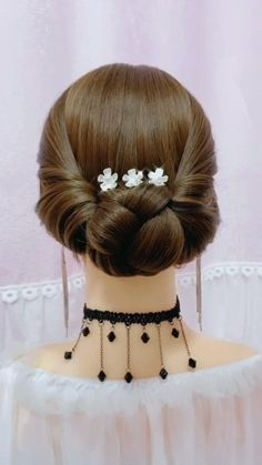 Hairdo For Long Hair, Bun Hairstyles For Long Hair, Bride Hairstyles, Cute Hairstyles, Hairstyle Braid, Heatless Hairstyles, Beautiful Hairstyles, Party Hairstyles, Summer Hairstyles