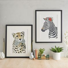 Safari Zebra Giclee Art Print by Amelia Illustration, the perfect gift for Explore more unique gifts in our curated marketplace. Photography Gallery, Creative Photography, Cotton Texture, Pen And Watercolor, Safari Animals, Hand Illustration, Wildlife Art, Room Themes, Creative Studio