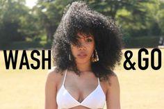 Wash n Go For Heat Damaged Hair [Video] - http://community.blackhairinformation.com/video-gallery/natural-hair-videos/wash-n-go-for-heat-damaged-hair-video