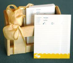 Recipe Cards - free download printable pdf (from Melissa Esplin)