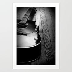 Acoustic Art Print by Caleb Troy - $20.00