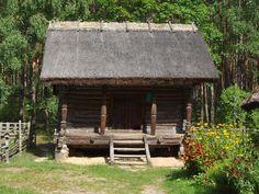 Latvian Ethnographic Open-Air Museum - living house - Klēts — Vikipēdija