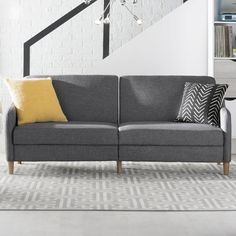 Just for You Tulsa Sleeper Sofa - Langley Street Best Sleeper Sofa, Best Sofa, Sleeper Sofas, Living Room Furniture, Home Furniture, Living Room Decor, Modern Furniture, Vintage Leather Sofa, Leather Sofas
