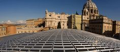 Buildings gobble up almost half the world's energy and spew out nearly a third of global greenhouse gas emissions. Making them greener is the quickest, easiest way to avoid a climate catastrophe.    Picture: Electricity generating solar panels adorn a rooftop in the Vatican City, Rome (Source: Reuters) Vatican City, Solar Panels, Rooftop, Rome, Third, Random Stuff, Buildings, World, Pictures