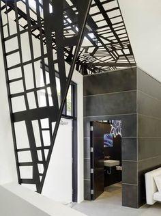 美国加利福尼亚白色纯净阁楼 / 美国Gary Hutton Design