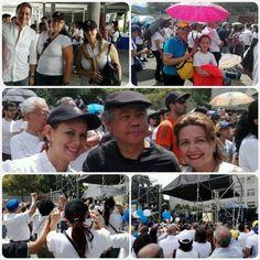 """El CDCH UCV estuvo presente en la jornada """"Unamos nuestras voces por la Paz en Venezuela"""", Plaza del Rectorado, Ciudad Universitaria, #UCV"""