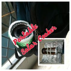 DIY Portable Solar Cooker
