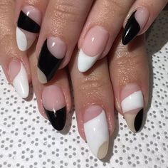 Nail Design Stiletto, Nail Design Glitter, Cute Acrylic Nails, Acrylic Nail Designs, Hair And Nails, My Nails, Fire Nails, Minimalist Nails, Oval Nails