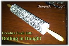 Creative Cash Gift - Rolling in Dough