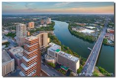 We can't get enough of Rob Greebon's amazing photography - can you?  From high atop the Austonian, here is the view you'll have looking southeast. Fifty-four floors below is the Congress Bridge and Ladybird Lake. In the distance is I-35 heading south. Thanks for looking!  www.furnitureintherawtx.com