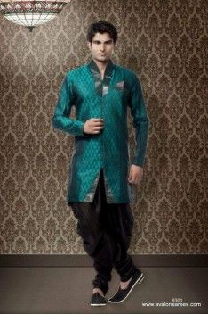 pfm always delivers a selection that is stylish as well as contemporary. In this selection Bridegroom Sherwani are designed with drops and embroidering. Each sherwani style is stylish and fashionable. Exclusive Shaded sherwani for groom is wonderful selection which is combined up with unique turbans and shawls etc.