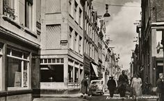 1950's. Eerste Tuindwarsstraat, Jordaan in Amsterdam. #amsterdam #1950