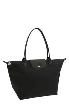 I love my Le Pliage tote for everyday use, so now I want the bigger Longchamp Planetes Tonal tote for travel!