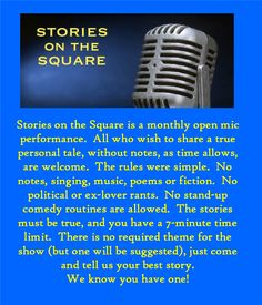 storytelling open mic - 2nd Tuesdays - Decatur