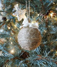 Be Book Bound: Homemade Ornaments