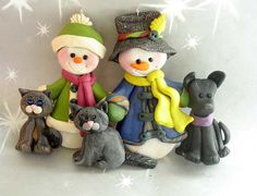 Polymer Clay Milestone Ornament Cake Topper by alongcameaspider1