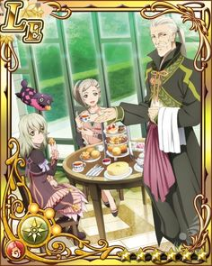 Tales of Xillia - Elize, Teepo, Rowen, and Driselle Tales Series, Series 3, Tales Of Graces, Tales Of Xillia, Pretty Cool, Blade, Laughter, Gaming, Characters