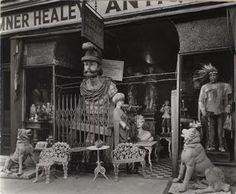 Sumner Healey Antique Shop, Third Avenue near 57th Street, Manhattan.