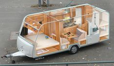 Diy Camper Trailer, Build A Camper, Trailer Tent, Truck Bed Camper, Trailer Build, Camper Trailers, Camper Van, Small Trailer, Small Caravans