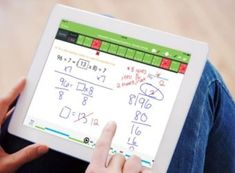 Tabtor Math is an app for the iPad that also assigns a student a real tutor to help raise their proficiency. Math Help, Math Practices, Periodic Table, Homeschool, Ipad, Student, Kids, Joyful, Free