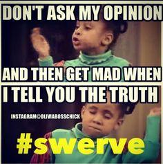 #oliviabosschick #instagram #opinion #truth #swerve