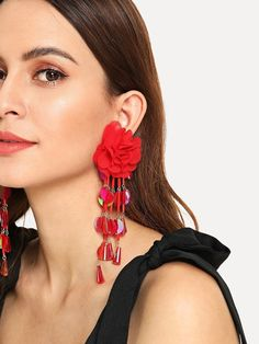 Drop Earrings Jewelry & Accessories 2019 New Shelves Hot Womens Fashion Hair Ball Metal Ball Earrings Simple Plush Ball Earrings Ladies Party Jewelry Cheap Sales 50%