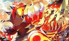 groudon mega evolution Fire Pokemon, Pokemon Rayquaza, Mega Evolution, Pokemon Collection, Super Mario, Sonic The Hedgehog, Cool Art, Naruto, Disney