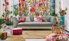 Estampados: la primavera 'viste' las telas de la casa