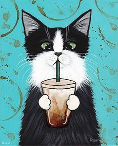 1000+ ideas about Cat Art on Pinterest | Cat Art Print, Cat ...
