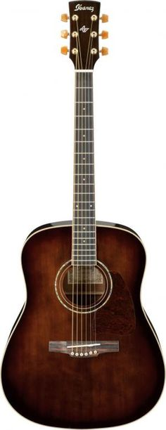 Such a gorgeous guitar! Me gusta!    Ibanez AW30DVS Dark Violin Sunburst Acoustic Guitar