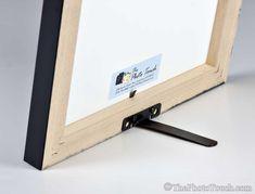 Picture Frame Easel Back - EaselMate - Easel for Photo Frames up to - Frame support stand diy framing Hanging Picture Frames, Frames On Wall, Metal Frames, Picture Stand, Picture On Wood, Frame Crafts, Diy Frame, Marco Diy, Diy Easel