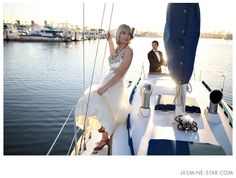 So if you are getting married on or near boats... you know who to call! I am dieing to shoot a nautical themed wedding. Ahhh, water, sunshine, totally romantic <3