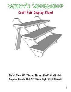 Craft Fair Display Stand Craft Fair Display Stand – PDF – Woodworking plans – wood plans – blueprints Related Post Take a look at these simple woodworking projects f. Doors for Cabinetry & Fine Furniture Woodwork. Woodworking Shows, Easy Woodworking Projects, Popular Woodworking, Woodworking Furniture, Fine Woodworking, Diy Wood Projects, Woodworking Classes, Woodworking Machinery, Woodworking Basics