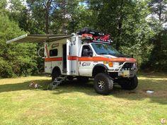 HD-RV 2004 Ford E-350 Ambo Expedition Camper