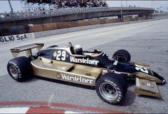 Ricardo Patrese, Warsteiner Arrows-Ford A1B, 1979 US West Grand Prix, Long Beach.