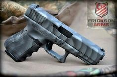 Glock in Cerakote Gray. | Guns Knives Gear