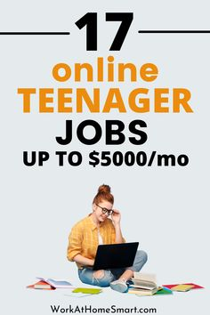 Looking for easy work from home jobs for teenagers to make money? Here's a list of legit online jobs for teens that pay well. Jobs From Home Legit, Work From Home Companies, Legitimate Work From Home, Online Jobs For Teens, Legit Online Jobs, Earn Money Online, Earning Money, Everyday Workout, Extra Money