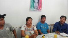 Visitan Torreón familias de desaparecidos de Ayotzinapa
