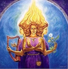 Who's this Goddess? Brigid (Brighid) of the Sacred Flame