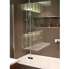 Hart Folding Bath Screen | Shower & Bath Screens | CP Hart