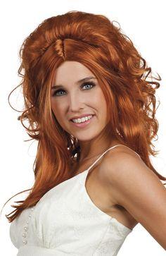 Lily Rose-peruukki. Lily Rose-peruukki on pitkä ja naisellinen peruukki, jossa etuhiukset kehystävät kasvoja ja takahiukset on ikään kuin tupeerattu koholle.
