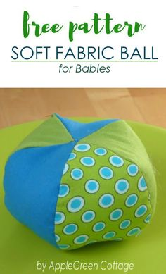 Get your free PDF sewing patttern for a soft baby toy, with a step-by-step tutorial and lots of how-to photos. It's an easy beginner sewing project for a perfect baby-welcoming gift you can make in a really short time.