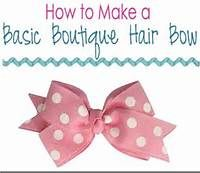 Make Hair Bows At Home - Bing Images